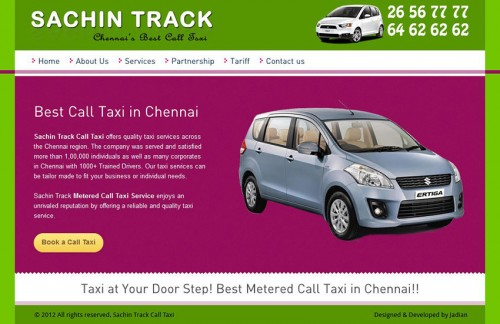 Sachintrack Call Taxi