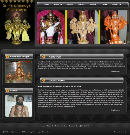 Sri-Panchamuga-Archaneyar
