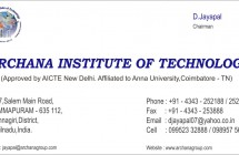 Archana Institue of Technology