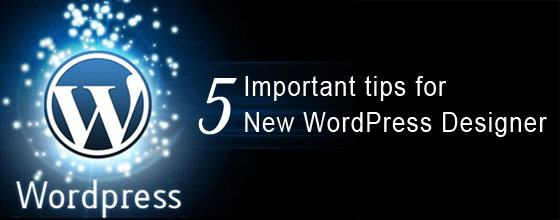 Five important tips for New WordPress Designer